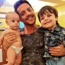 Digno de Ver Los Hijos de Francisco Delgado se adoran y hacen feliz a su papá